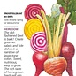 Seed Beet Gourmet Blend Organic Heirloom - Beta vulgaris - Lrg Pkt