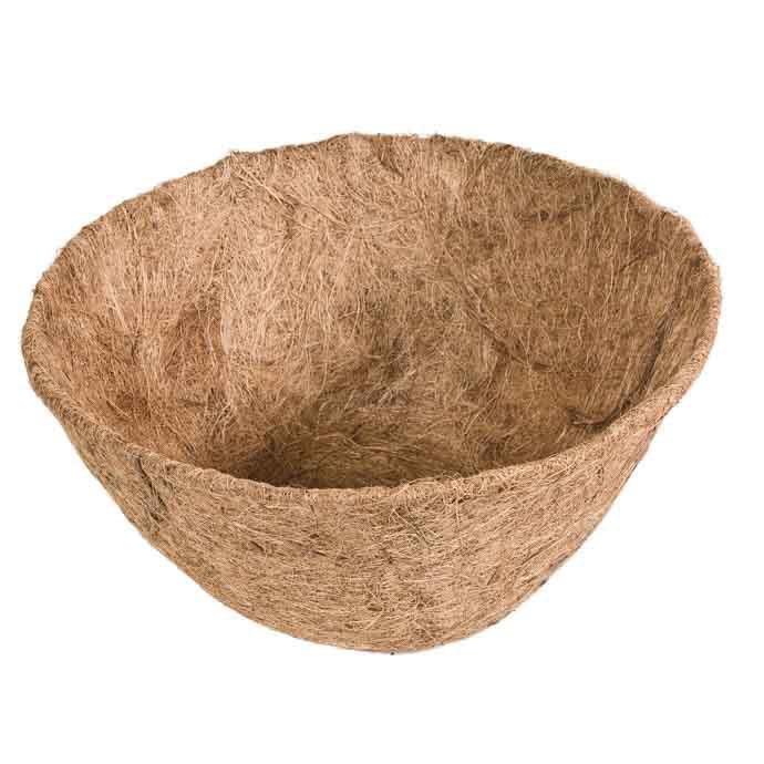 """Coco Liner 16"""" Fits Hanging Basket Border"""