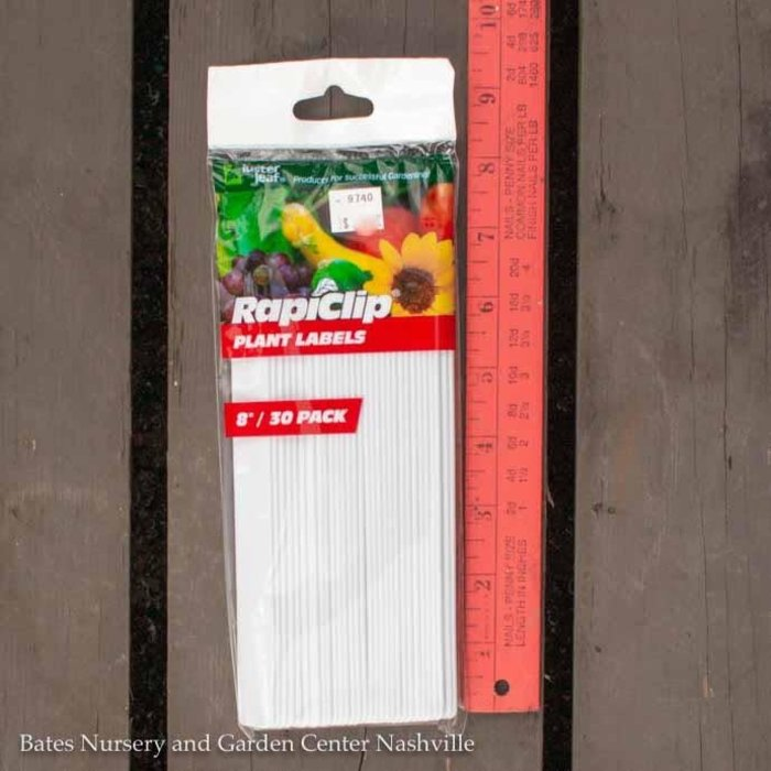 "Plant Labels/Markers 8"" Plastic  30/Pk Luster Leaf"