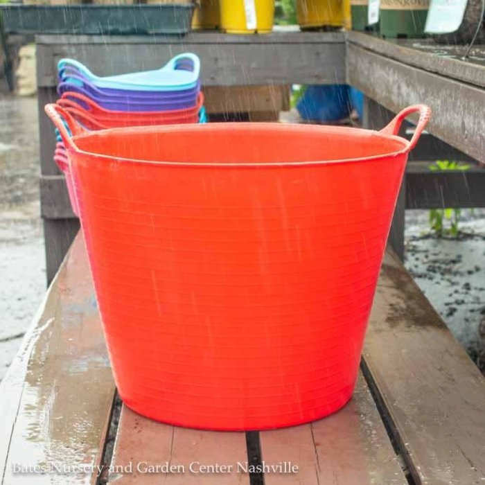 6.5Gal/26L Tubtrug Flexible Medium Bucket - Red