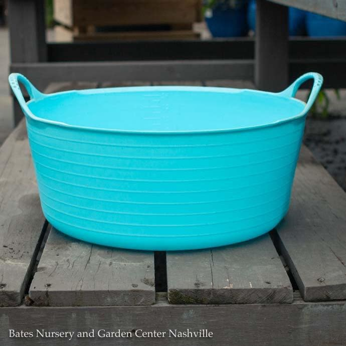 3.9Gal/15L Tubtrug Flexible Small Shallow Bucket - Sky Blue