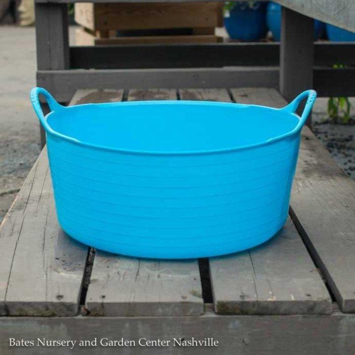 3.9Gal/15L Tubtrug Flexible Small Shallow Bucket - Blue