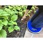 Kneeling Pad Blue Garden Memory Foam
