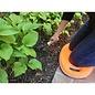 Kneeling Pad Orange Garden Memory Foam