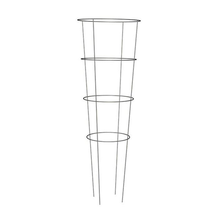 """Tomato Cage 54"""" Galvanized 4 Rings/4 Legs  Panacea"""