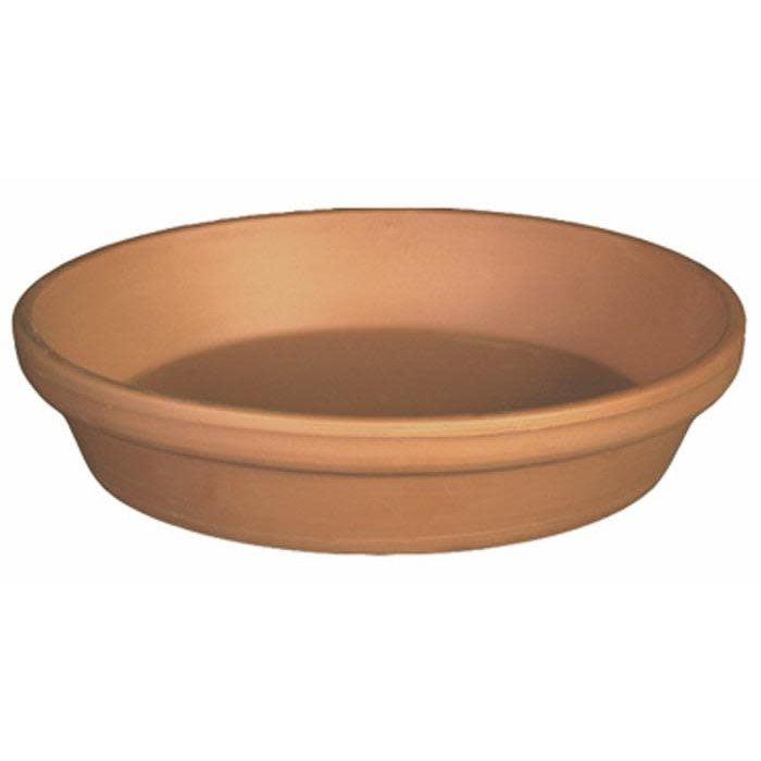 "Saucer 11""-12"" Clay / Terracotta"