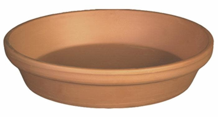 "Saucer 9""-10"" Clay / Terracotta"