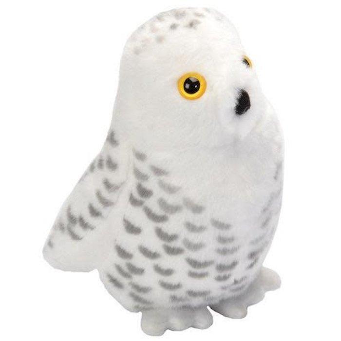 Snowy Owl Audubon Plush Toy