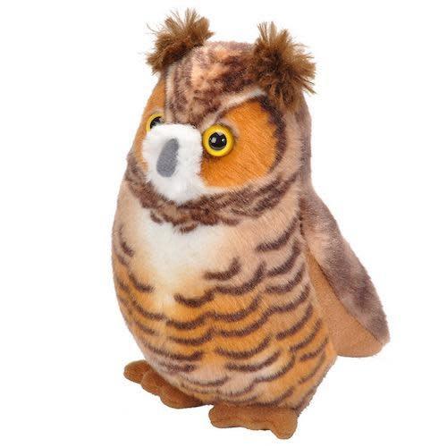 Great Horned Owl Audubon Plush Toy