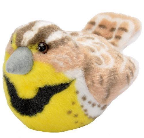 Western Meadowlark Audubon Plush Toy