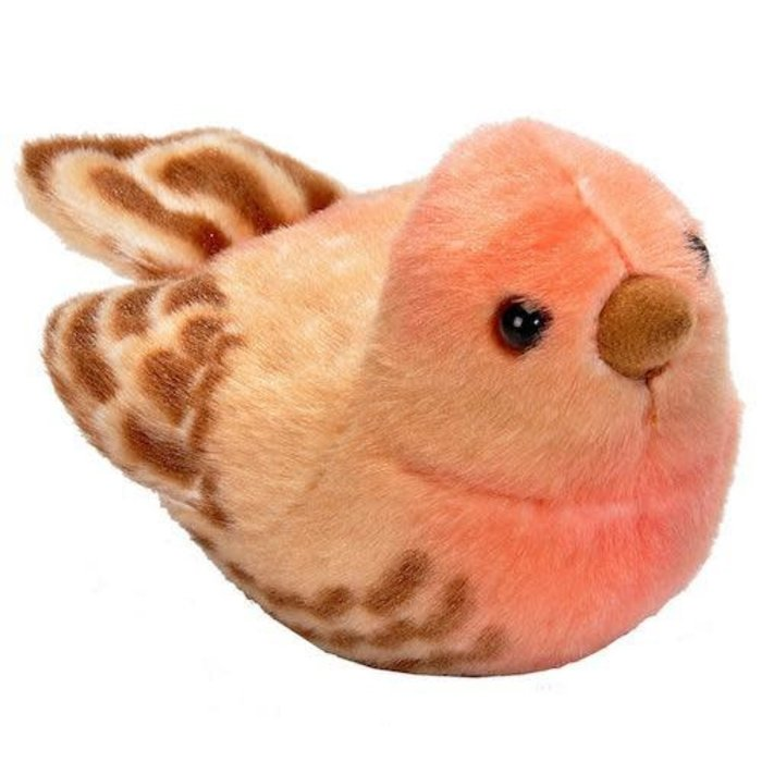 House Finch Audubon Plush Toy