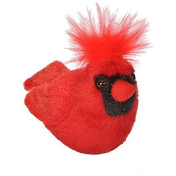 Northern Cardinal Audubon Plush Toy