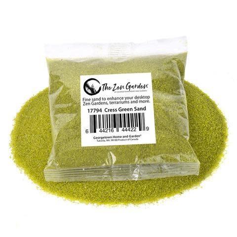 Zen Garden Sand Extra Fine Cress Green 8oz