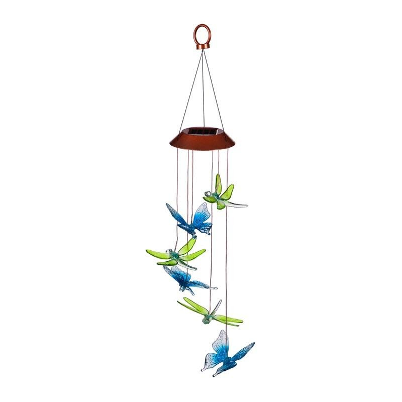 """Hanging Mobile Dragonfly/Butterfly Plastic Solar 26"""""""