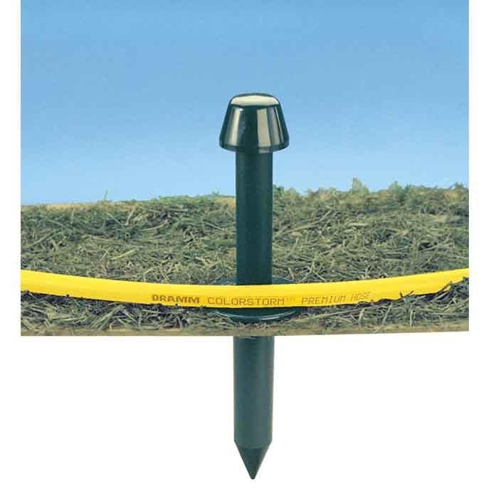 Dramm Hose Guide Green Stake Plastic