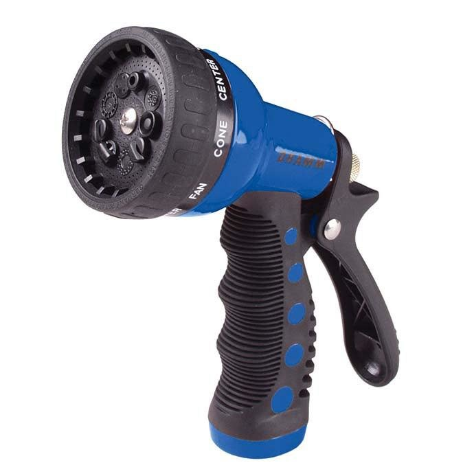 Dramm Revolver 9 Position Spray Nozzle Blue