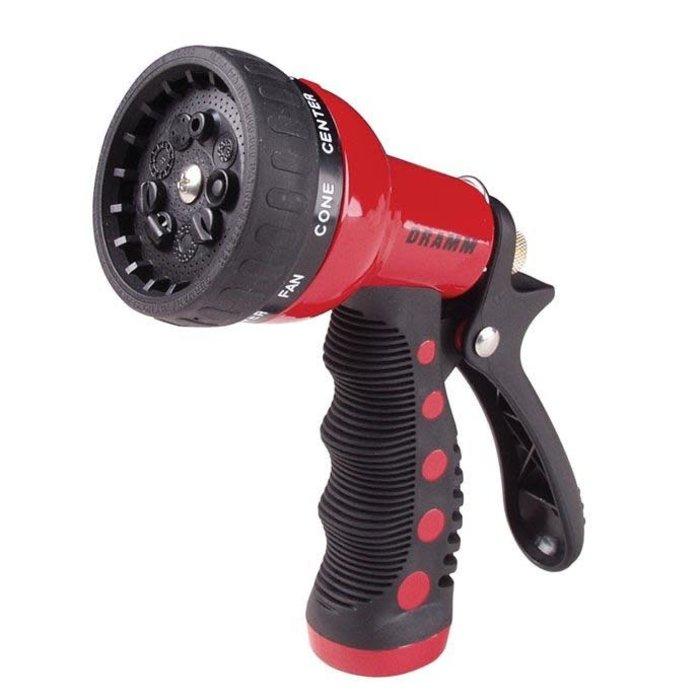 Dramm Revolver 9 Position Spray Nozzle Red