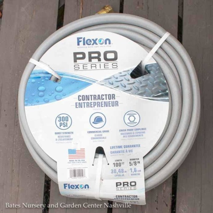 "Garden Hose Flexon 100ft x 5/8"" Contractor Grade"