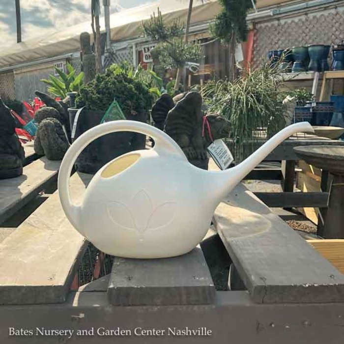 1/2 Gal Watering Can White Pearl Novelty