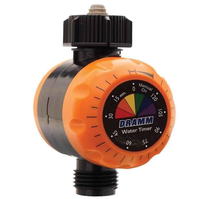 Water Timer ColorStorm Mechanical Dramm Orange