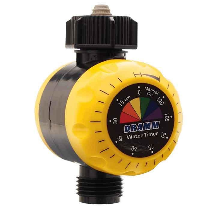 Water Timer ColorStorm Mechanical Dramm Yellow