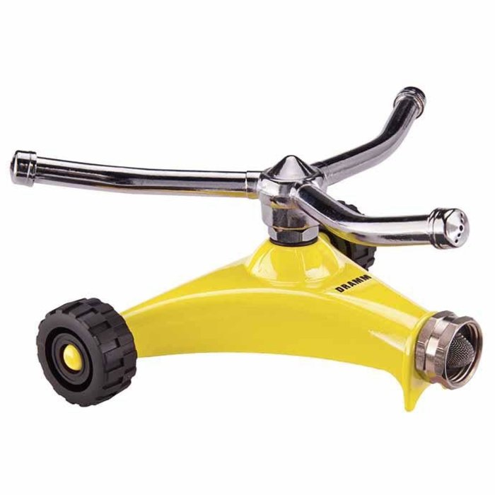 Sprinkler Whirling w/Wheels ColorStorm Dramm Yellow