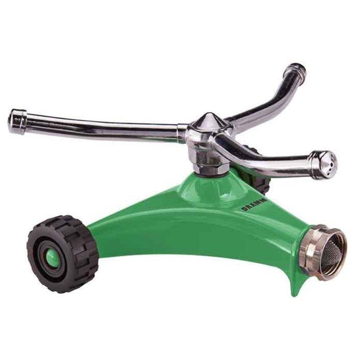 Sprinkler Whirling w/Wheels ColorStorm Dramm Green