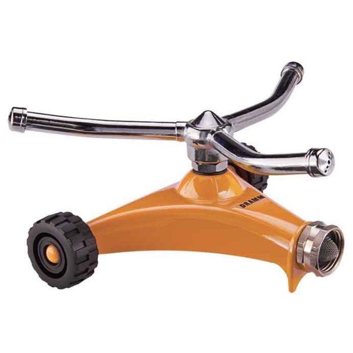 Sprinkler Whirling w/Wheels ColorStorm Dramm Orange