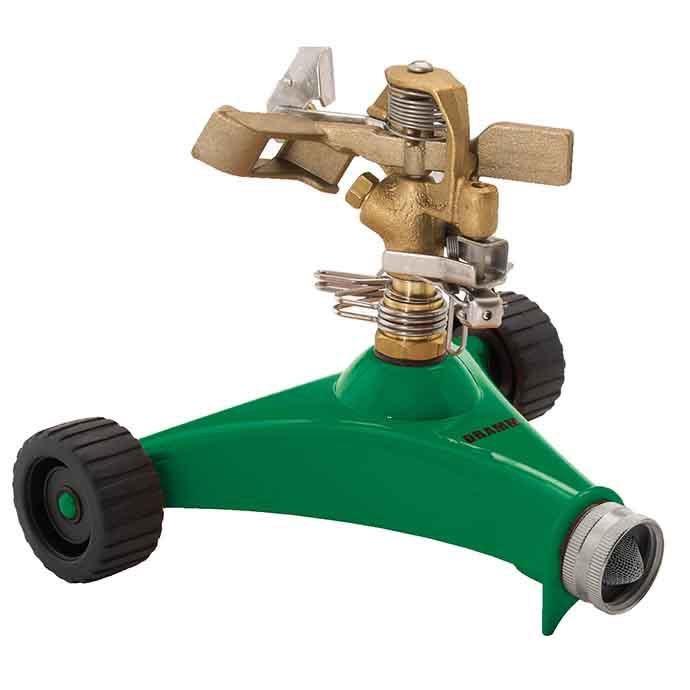 Sprinkler Impulse Wheeled Base ColorStorm Dramm Green