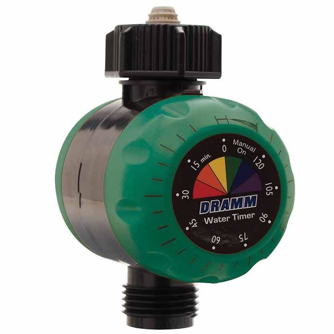 Water Timer ColorStorm Mechanical Dramm Green