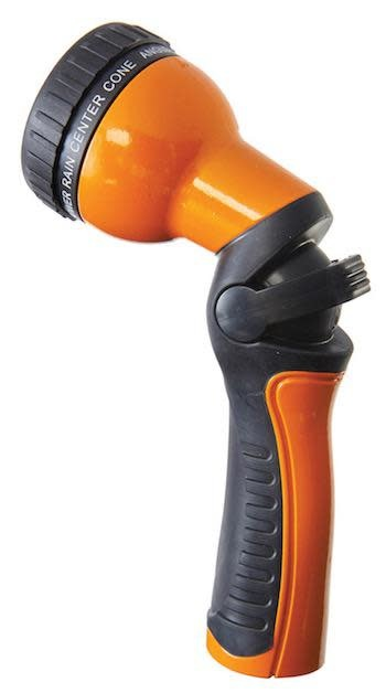 Dramm Revolution One Touch 9-Pattern Spray Nozzle Orange Uncarded