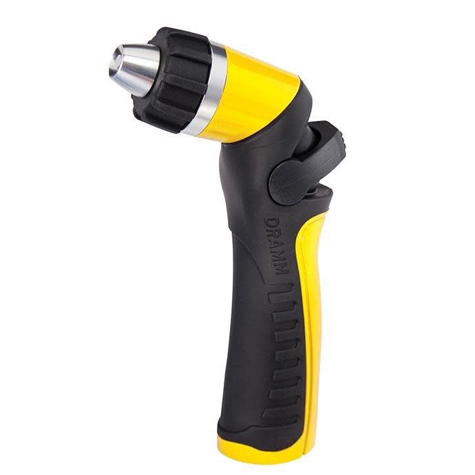 Dramm Twist One Touch Adjustable Spray Gun Yellow