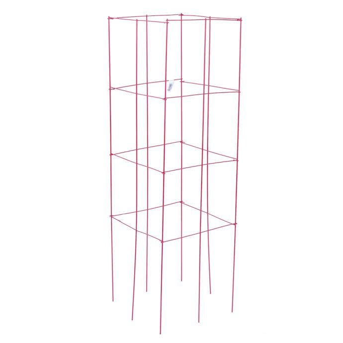 """Tomato Tower/Cage / Plant Support 47"""" Red Panacea"""