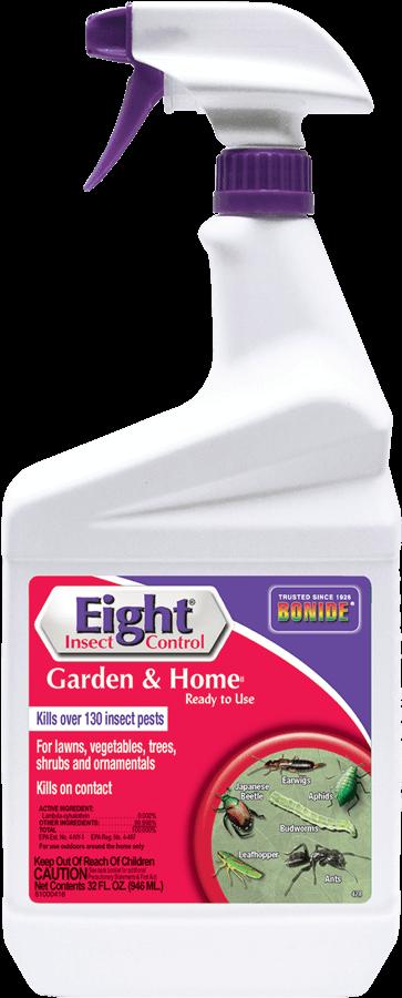 1Qt Eight Garden & Home RTU Insecticide Bonide - NOT Permethrin