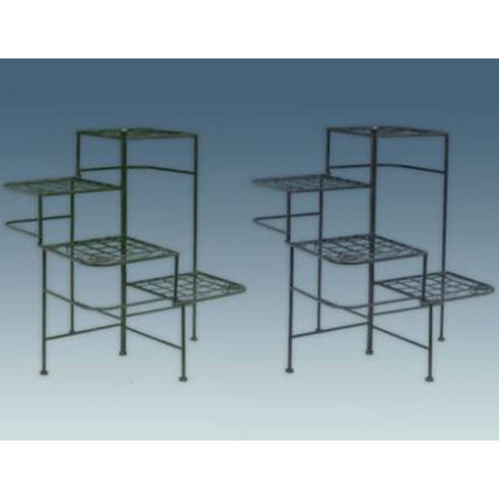 Plant Stand Square Multi-Tier 20x26 Asst Metal
