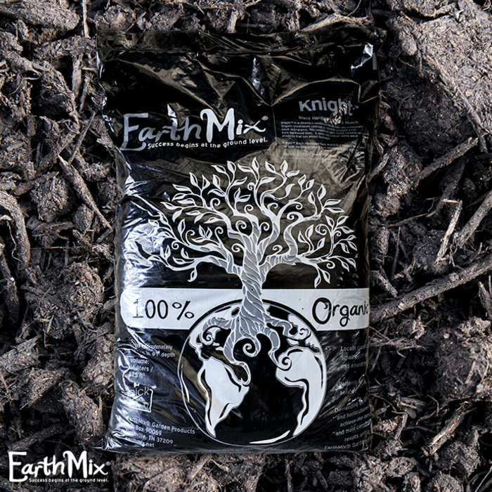 Bag 36L/1.25 Cuft EarthMix® Knight™ Black Hardwood Mulch
