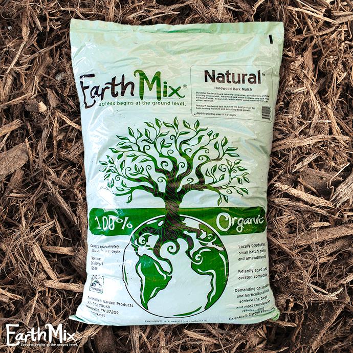 Bag 36L/1.25 Cuft EarthMix® Natural™ Brown Hardwood Mulch