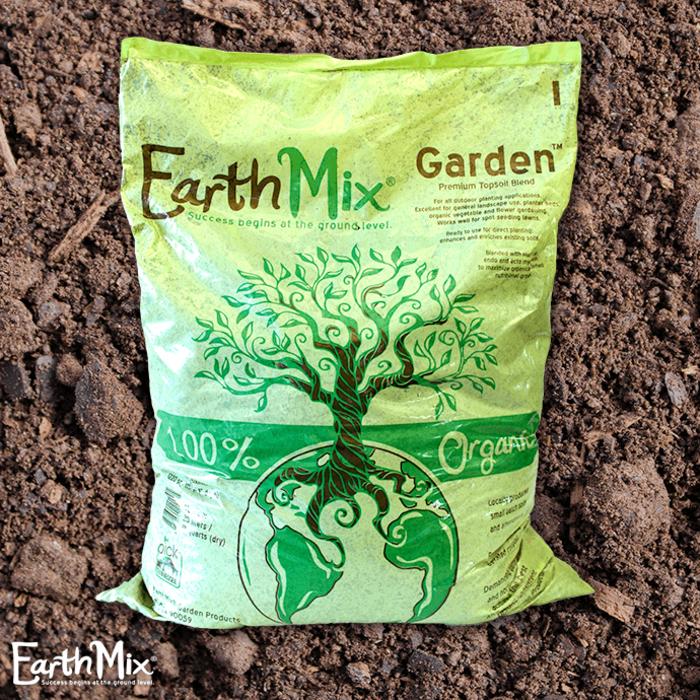 Bag 20L /18Qt  EarthMix® Garden™ A Premium Topsoil Blend  PTB