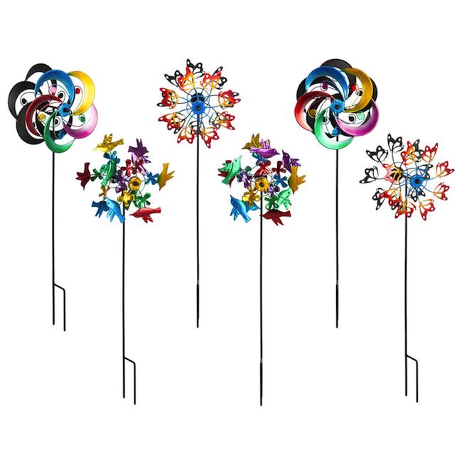 """Mini Spinner Multicolored 18""""h Asst"""