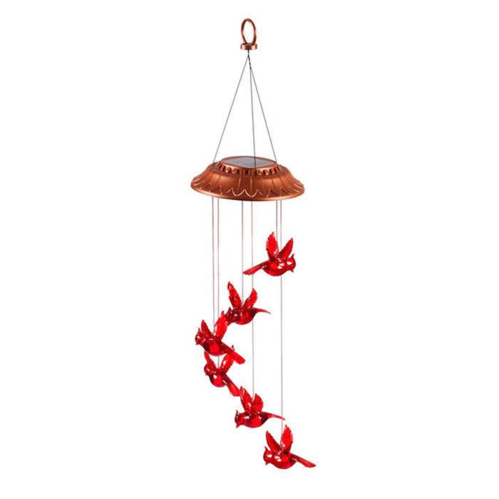 Hanging Mobile Garden Days Cardinal Solar