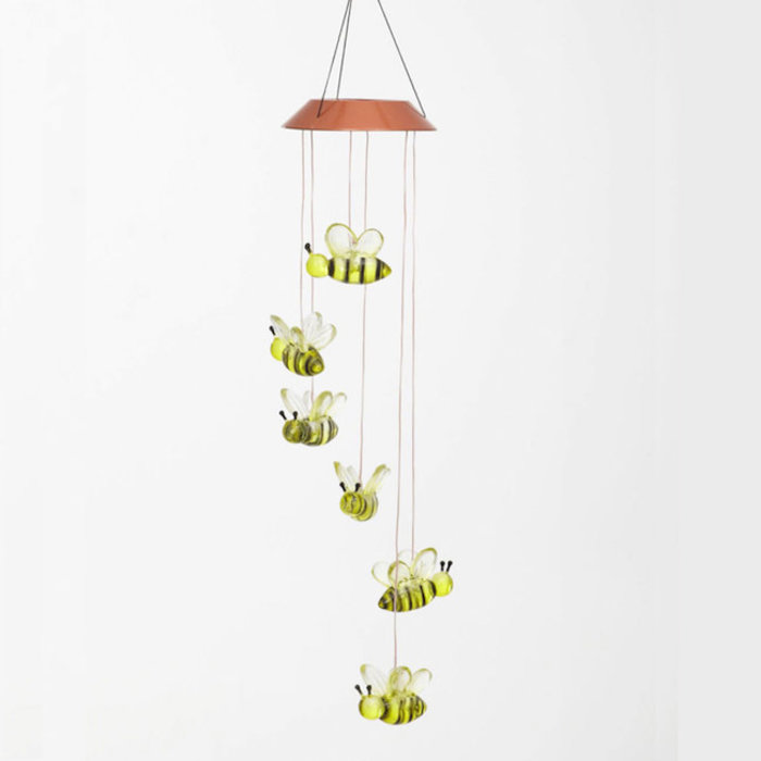Hanging Mobile Busy Days Bees Solar