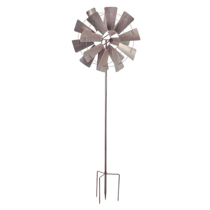 Wind Spinner Galvanized  Windmill 72:h
