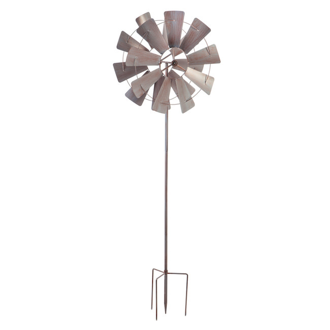 Wind Spinner Galvanized  Windmill 72:h