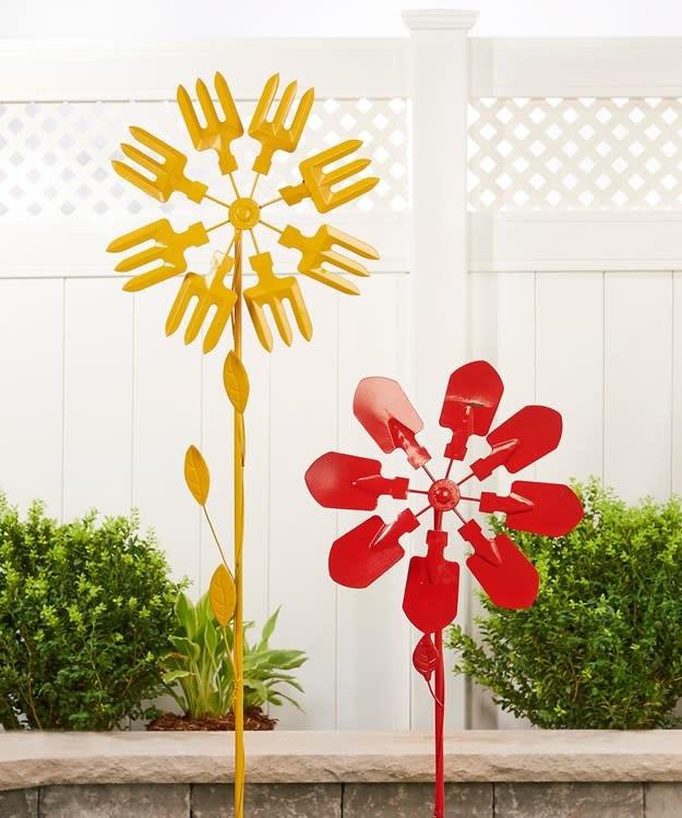Wind Spinner / Garden Stake Tools Asst