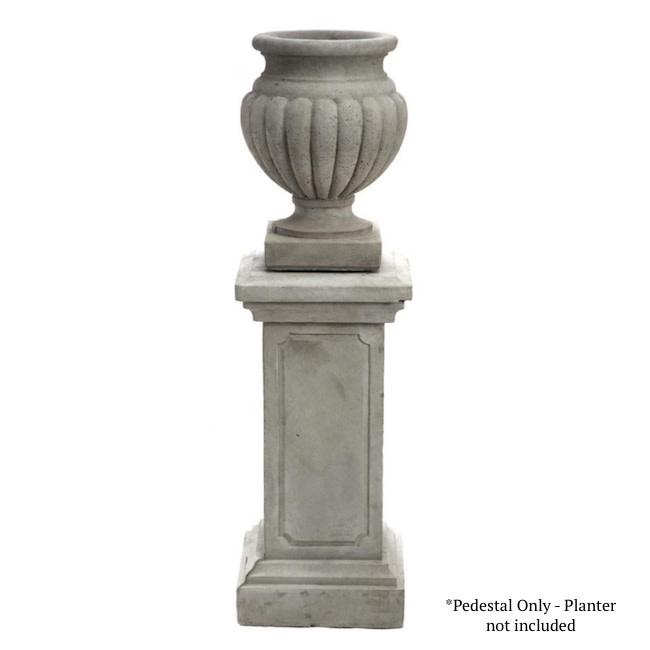 "Statuary 26"" Pompei Square Column / Pedestal 26hx12d"