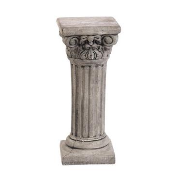 """Statuary 25"""" Tall Corinthian Column / Pedestal 25hx10d"""