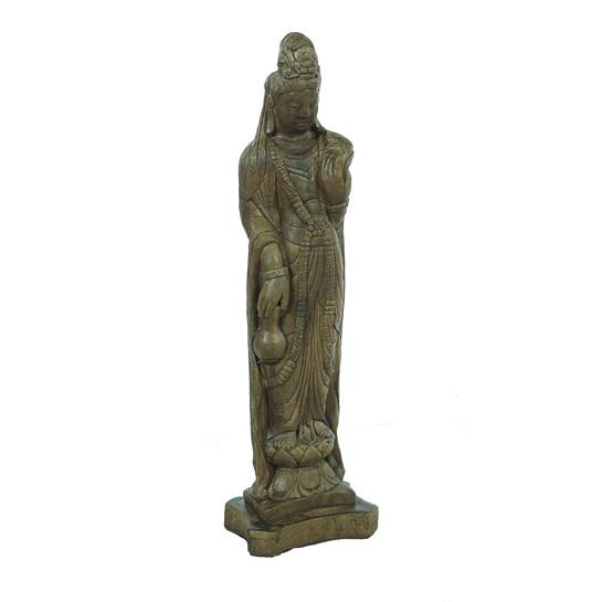 Statuary Medium Oriental Lady 27H