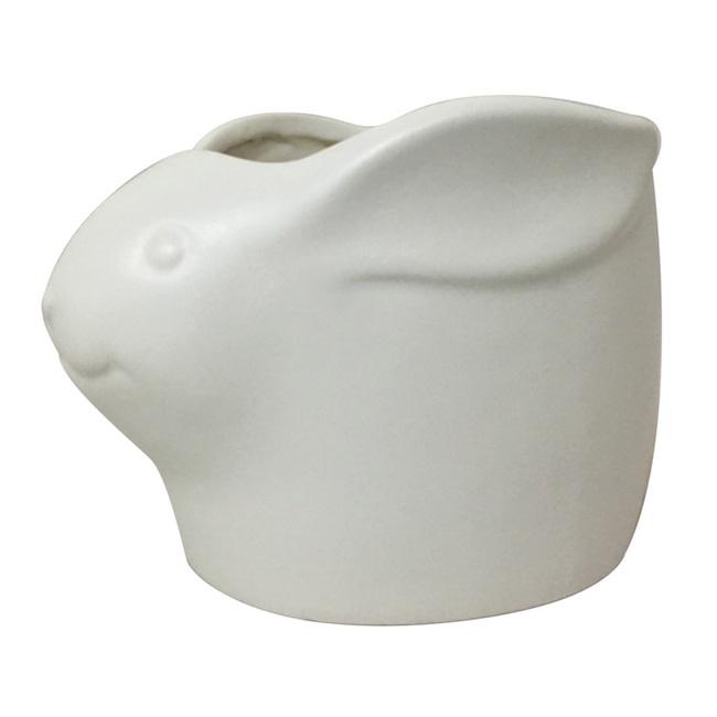 Pot Mini Animal Planter 6x4 Dog/Cat/Pig/Rbt/Ele/Whle Matte Asst