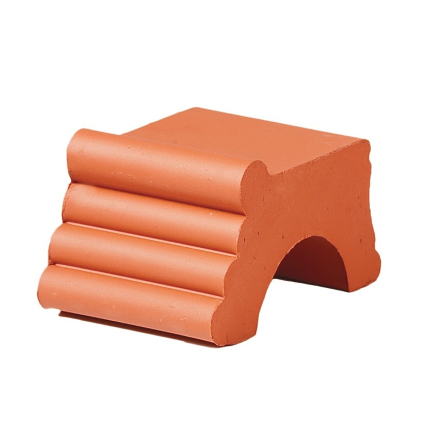 Pot Feet 2X3 Terracotta Each