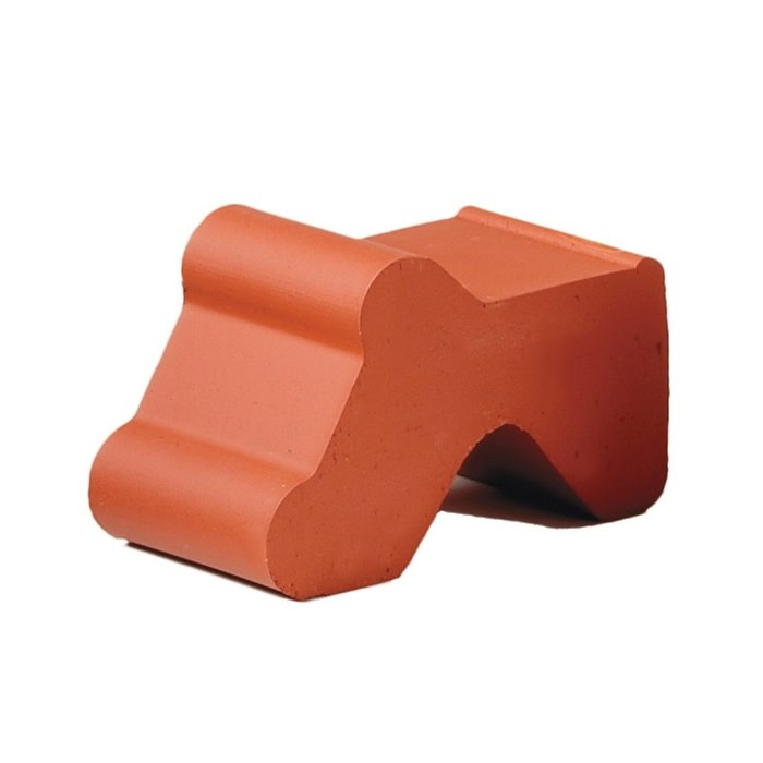 Pot Feet 1X2.5 Terracotta Each